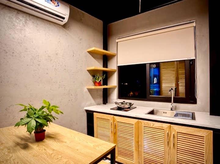 City View-The Nest Quảng Bình-Family Room 401