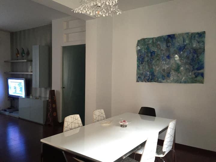 Appartamento rinnovato con giardino