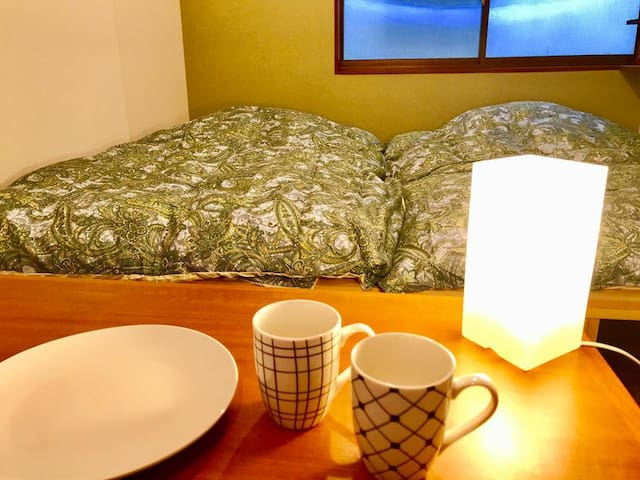 Den7 Takanawa【2F】Quiet & Historic Neighborhood