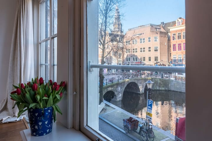 Characteristic CANAL VIEW apartment! - Amsterdam - Leilighet