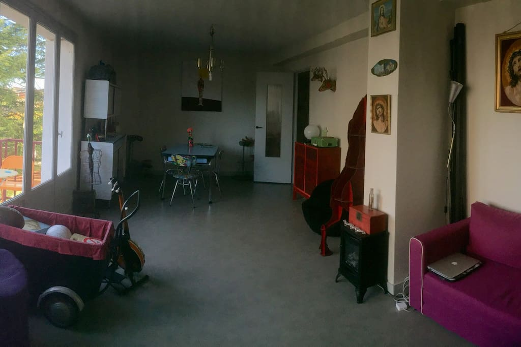 Appartement lumineux confort la deco atypique for Appartement atypique 66