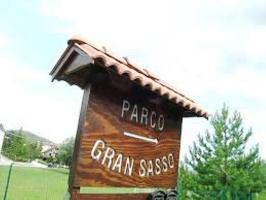 Parco Gran Sasso in Localita' Pontone