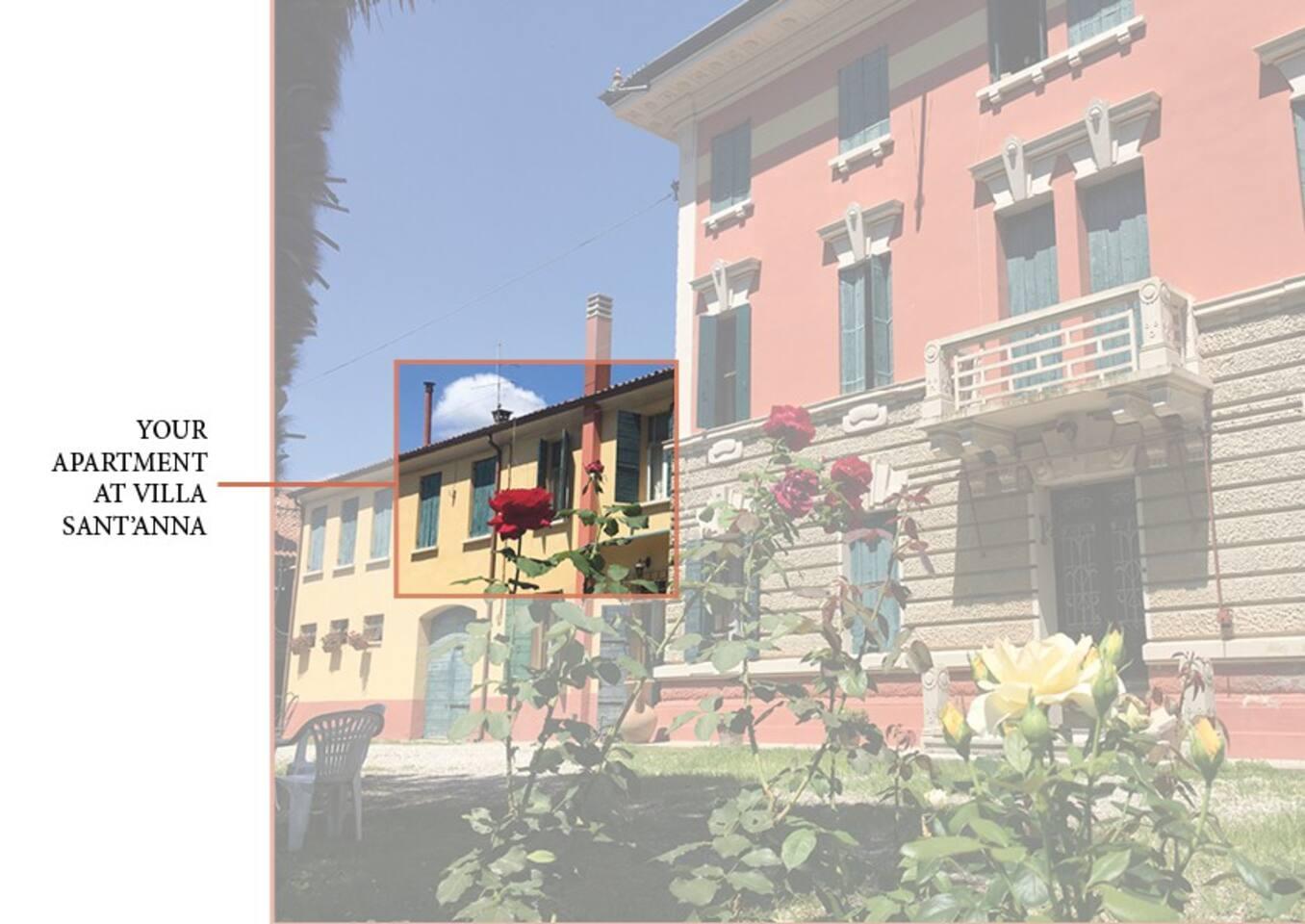 your apartment at Villa