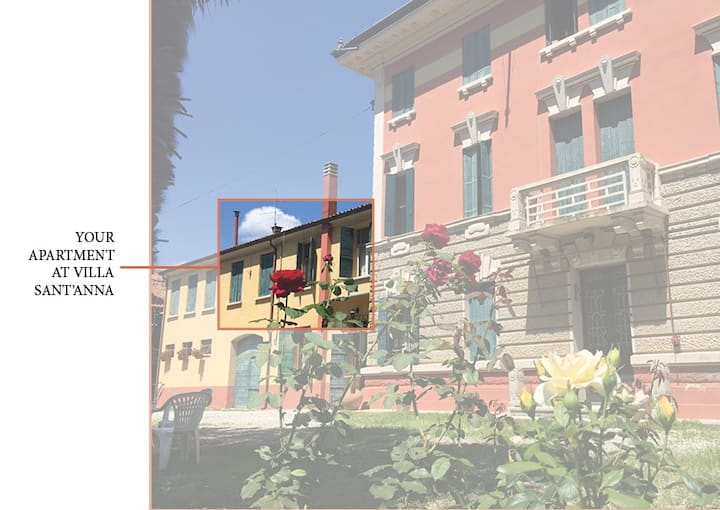 VILLA SANT'ANNA APT1: under renovation until 2022