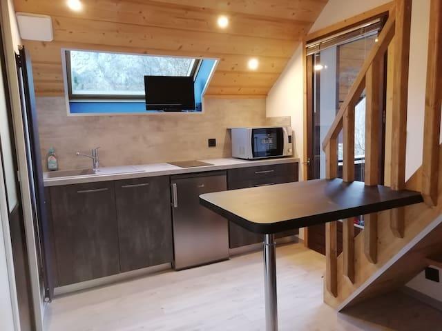 Studio en duplex Rénové