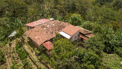 Living on a coffee farm in the middle of nature