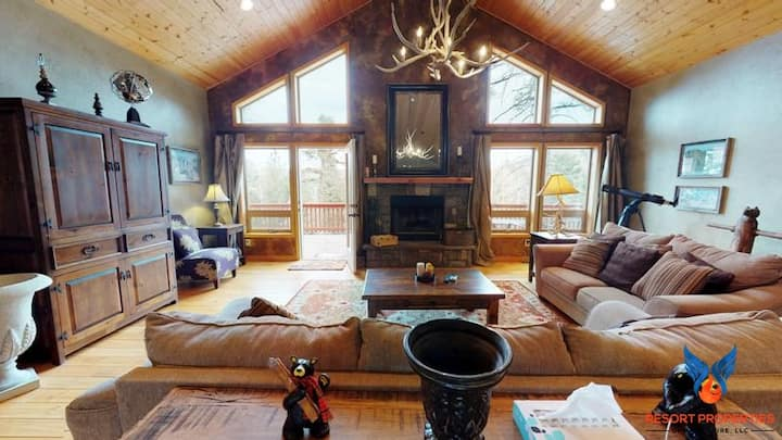 Modern Cabin; Quiet Location; Fire Place! Dream in the Trees