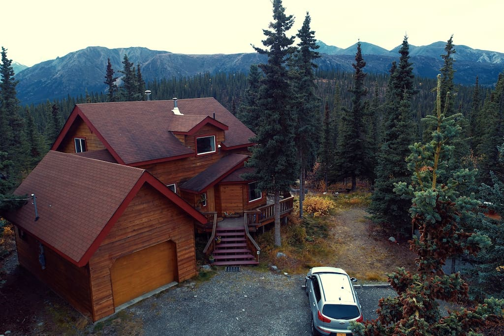 We are located at the edge of Denali National Park and Preserve.