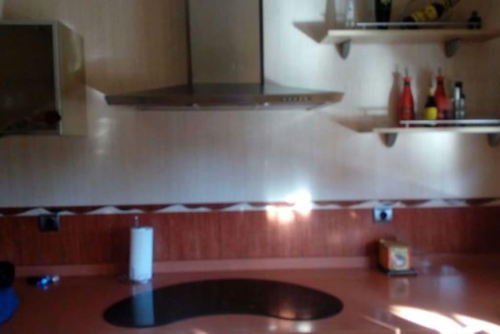 Una cocina muy cómoda