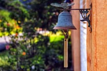 ring the bell and get into Villa Alejandro