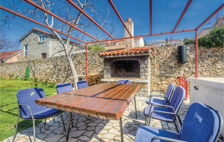 Beautiful home in Senj with WiFi and 1 Bedrooms
