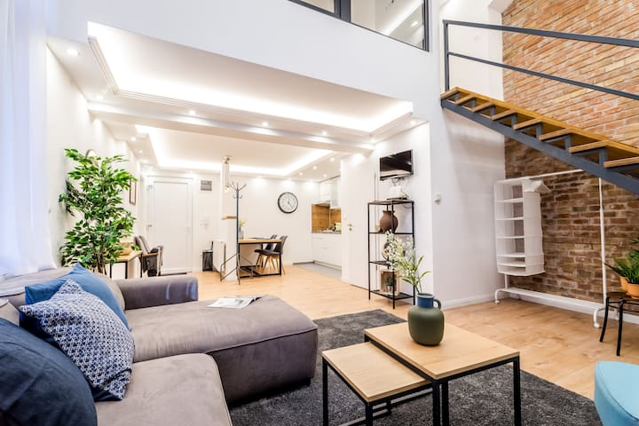 Luxury LOFT Flat with Absolute Center Location I