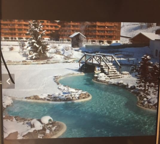 Champery//Val D'Illiez 1 bed apartment