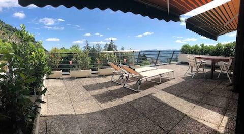 panoramic flat in Sestola