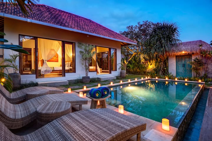 Exotic 1BD Pool Villa in Private Sanctuary Resort