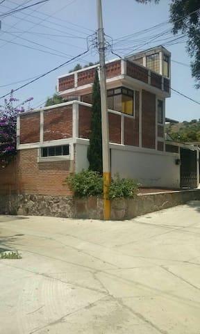 CASA APARTAMENTO CAMPESTRE - La Purificación Tepetitla - Hus