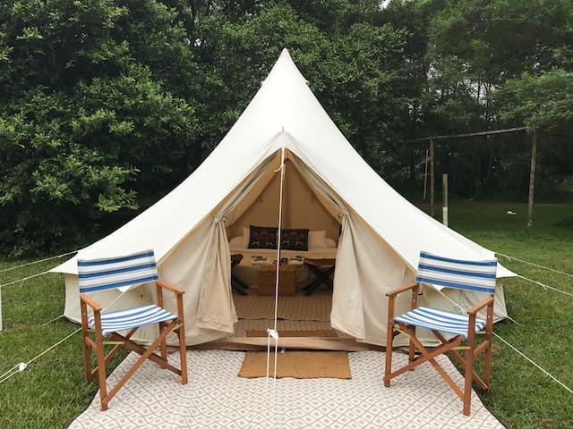 Avant-Garde Glamping at Glenworth Valley