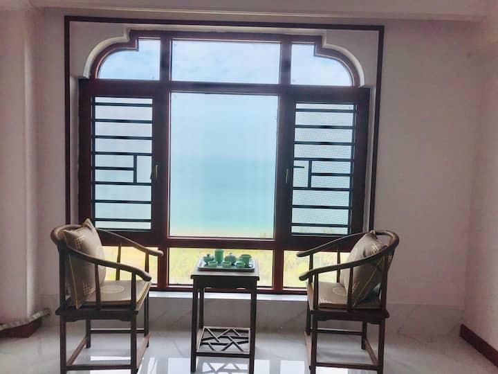 全海景,所有房间都可以看海的纯海景房