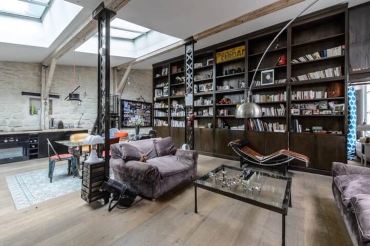 Appartement Loft sous verrière