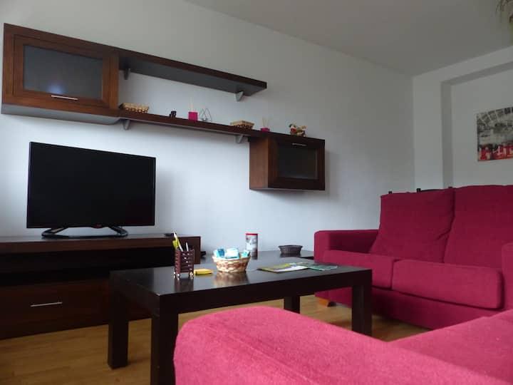 Amplio piso cercano al centro de la ciudad (Lugo)