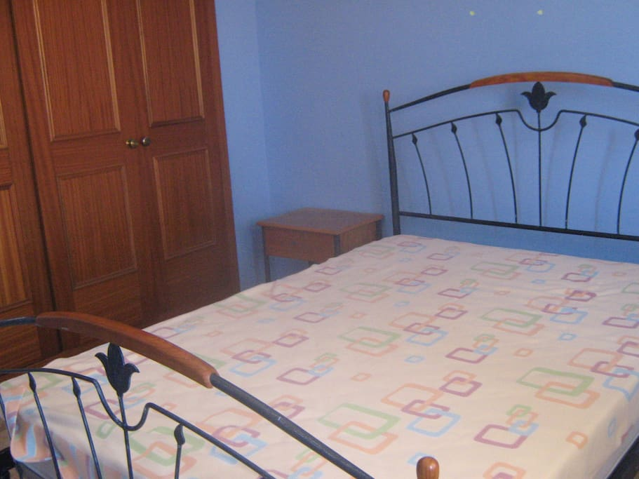 Double bed-wardrobe