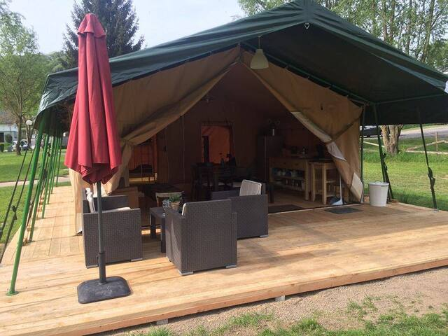 Glamping Mullerthal Luxemburg - Wallendorf-Pont - Tent