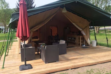 Glamping Mullerthal Luxemburg - Wallendorf-Pont - Sátor