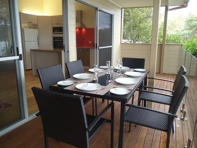 Front verandah off Lounge-Kitchen
