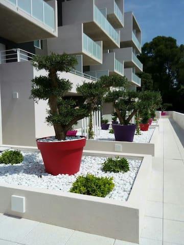 Bel appartement neuf aux portes de montpellier - Juvignac - Apartment