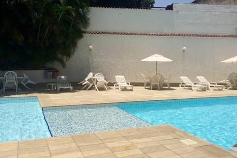 Beautiful room w exclusive swimming pool