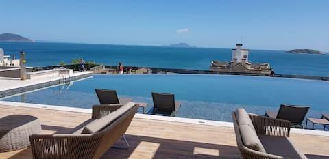 linda  vista do Mar de Ingleses Florianópolis SC