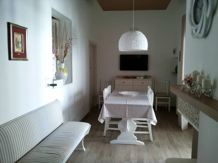 Apartment with 2 bedrooms in Montalbano, with enclosed garden and WiFi - 5 km from the beach