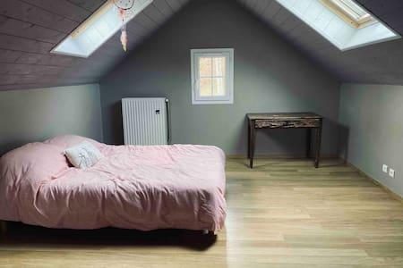 Chambres dans une maison agréable et une belle vue