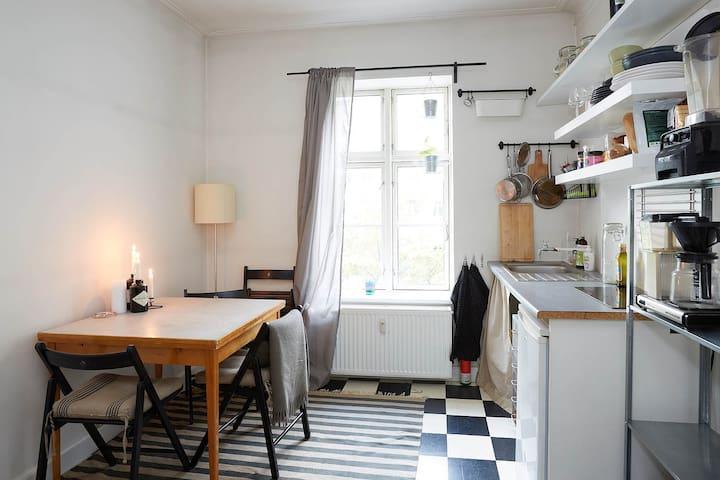 Studio apartment in central Vesterbro - โคเปนเฮเกน - อพาร์ทเมนท์