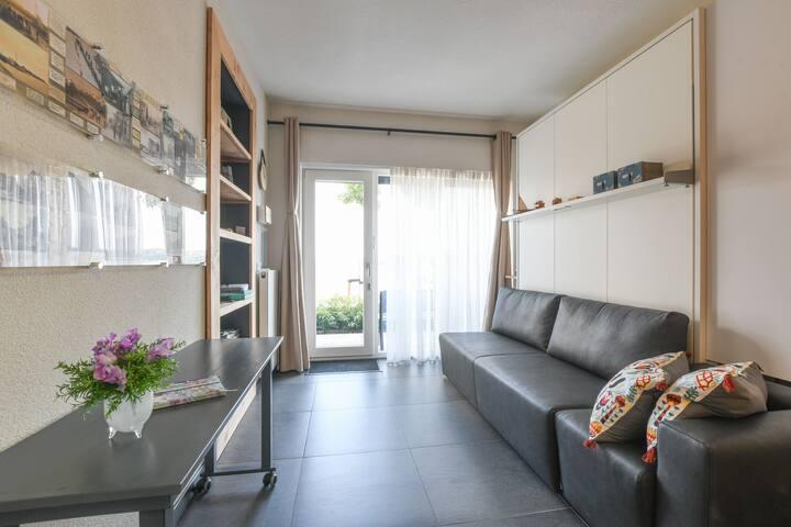 Appartement met weidse uitzichten in Kruiningen