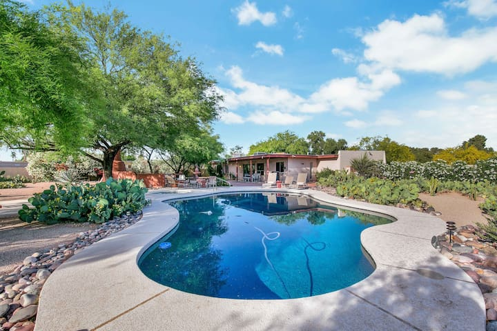 New Listing! Desert Trails: Luxe Home w/ Pool & Spa