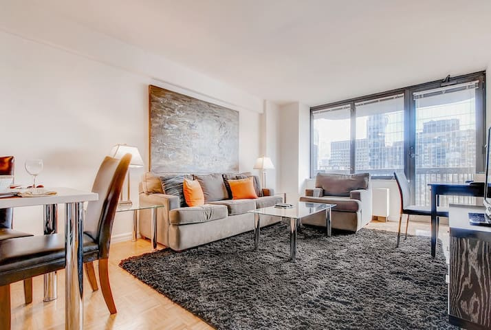 Upscale 1BR | Perfect for Travelling Nurses | NYC