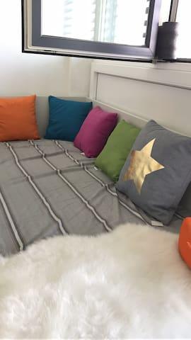 学生公寓中的单人床 - 皮尔马森斯 - Lägenhet