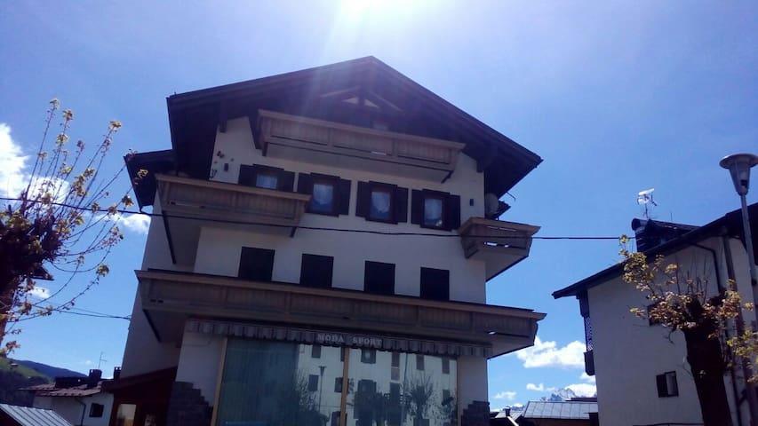 Appartamento con vista sulle Dolomiti.