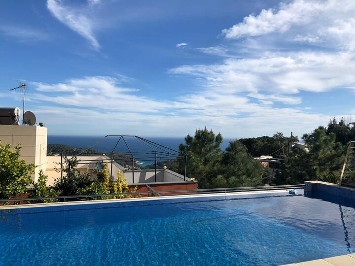 Villa with magnificent sea view