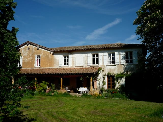 Very large  cottage, 15' from Lyon - Lentilly - Casa