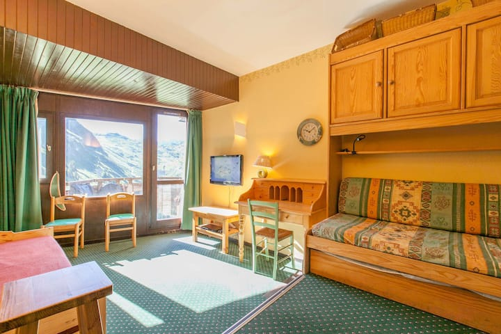 Studio 4 persons situated in the center of Avoriaz