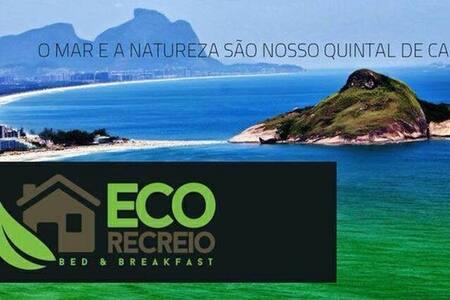 Eco Recreio Surf House - Cama #8 - Rio de Janeiro - Rumah