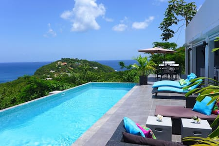 Breathtaking 180-Degree ocean view Lotus Villa - Gros Islet - Vila