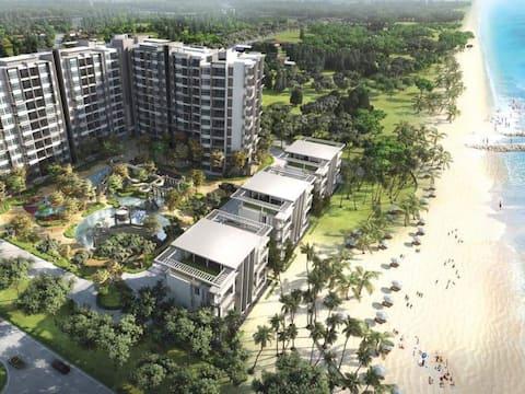 Beachfront Villa at Swiss Garden Resort Residences