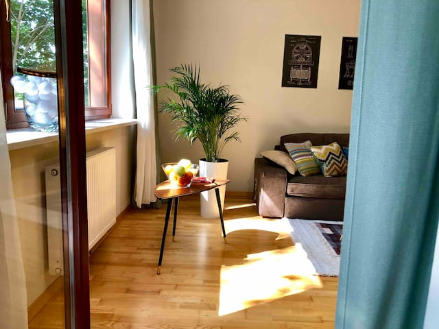 Elegant 2-room apartment with parking in Mokotow