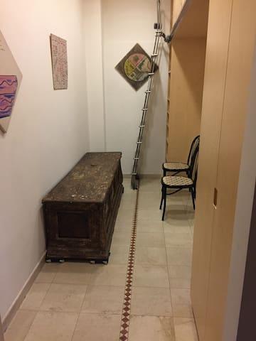 Tuscany Renaissance chest in corridor