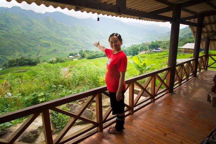 Hau Thao  Homestay with amazing view