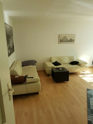 Flat in front of the Fair/Messe Frankfurt/Central