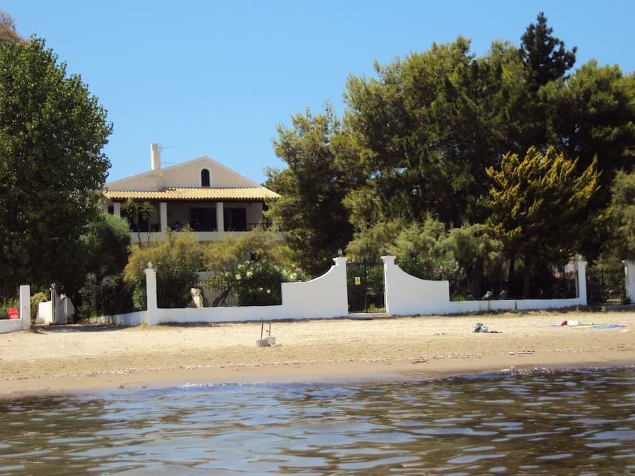 the house from the sea